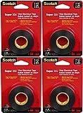Scotch Super 33+ Vinyl Electrical Tape 3/4 x 450 (Pack of 4)