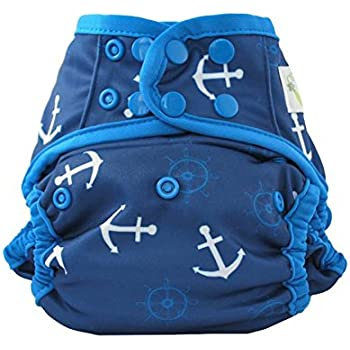Sweet Pea One-Size Reusable Swim Diaper, Anchor