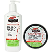 Palmer's Cocoa Butter Tummy Butter & Stretch Mark Massage Lotion (Original Version)