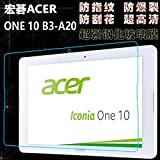 "YHC Tempered Glass Film Screen Protector f 10.1"" Acer Iconia One 10 B3-A20 Tablet"