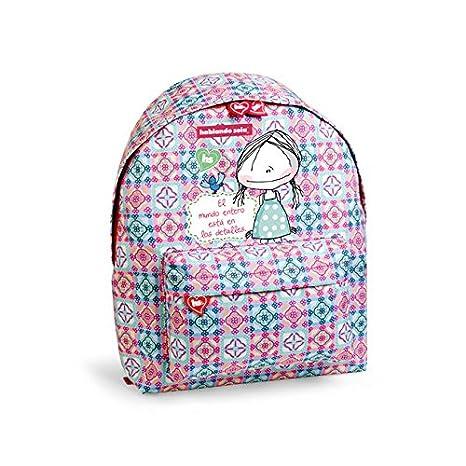 Busquets mochila escolar deporte HABLANDO SOLA: Amazon.es: Juguetes y juegos