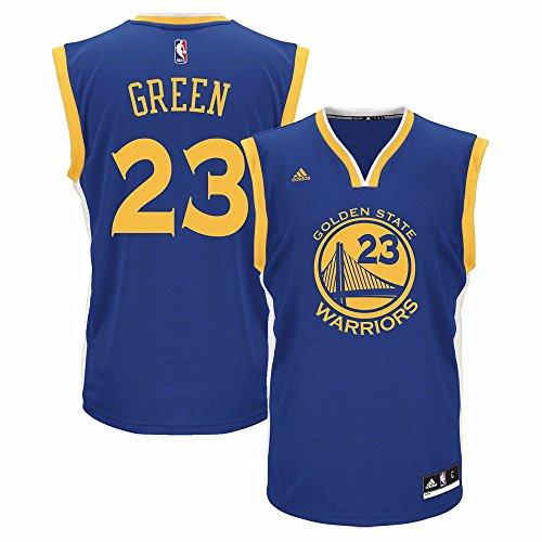NBA Golden State Warriors Draymond Green #23 Men's Replica Road Jersey, Medium, Blue