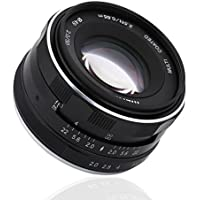Yosoo- Camera Lenses, Multi-coated 50mm F/2.0 Fixed Manual Camera Focus Lens for Canon Mirrorless Cameras