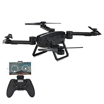 Goolsky Jie-Star X8TW WiFi FPV 0.3 MP Appareil Photo Pliable 2,4 g Gyroscope 6 Axes Selfie Drone Hauteur Tenir RC Quadcopter g-Sensor RTF