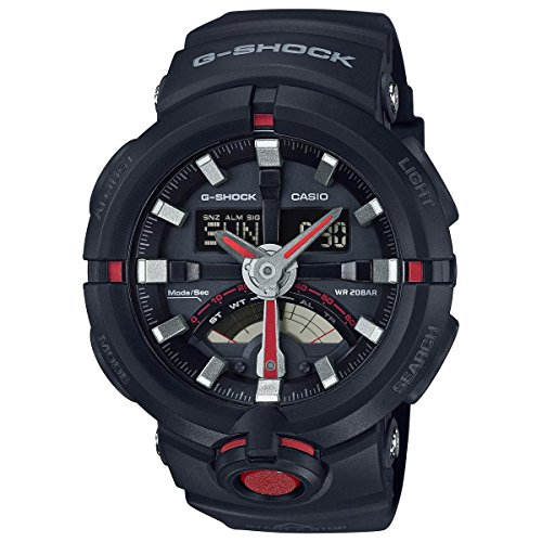 Casio Shock Urban Black GA500 1A4