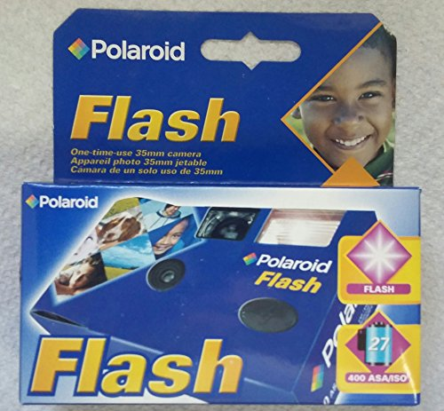 Polaroid Flash One-Time Use 35 mm Camera