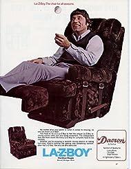 1975 Vintage Ad- LA-Z-BOY Joe Namath