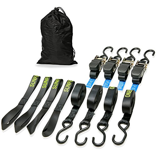 Motorcycle Ratchet Down Straps Pack product image