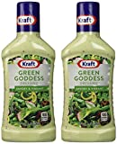Kraft Green Goddess Dressing 16 oz. Pack of 2
