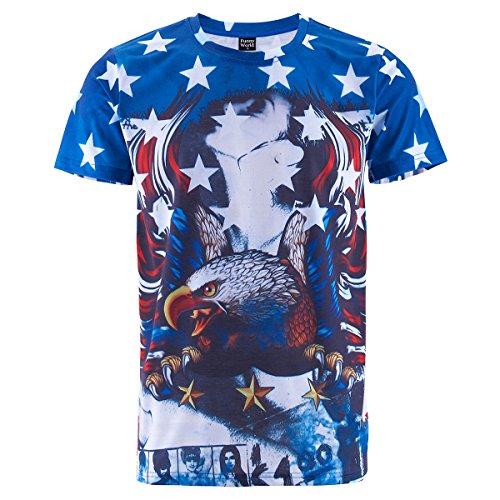 Eagle Flag Adult T-Shirt - 3