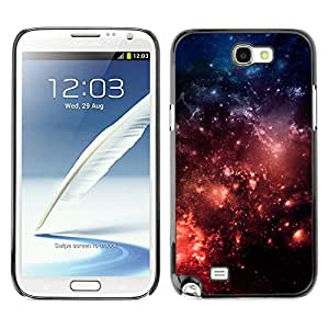 Planetar® ( Ambition Of The Sacred Fire ) SAMSUNG Galaxy Note 2 II / N7100 Fundas Cover Cubre Hard Case Cover