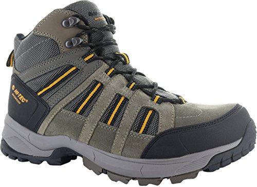 Hi-Tec Garcia Sport WP Shoes Men Taupe/Dark Taupe/Core Gold Schuhgröße 43 2017 Schuhe