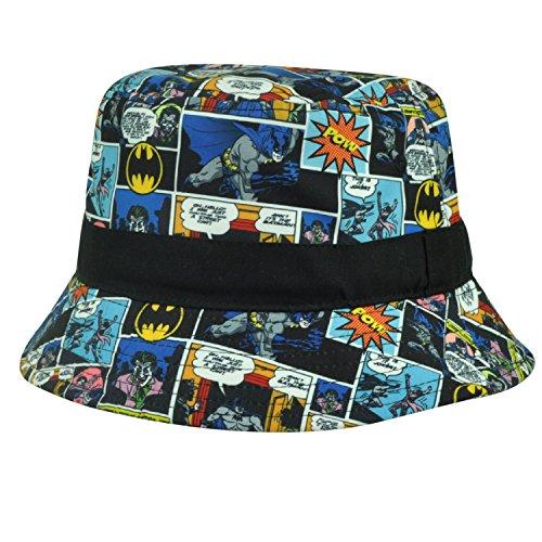 DC Comics Batman Comic Panels Bucket Hat