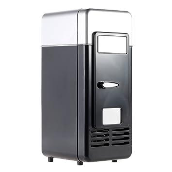 ANAN Mini refrigerador USB Mini refrigerador portátil refrigerador ...