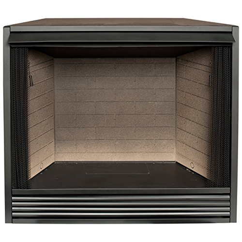 "Learn More About ProCom PC36VFC firebox Insert, 36.8"" H x 43"" W x 19"" D, Black"