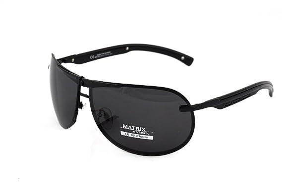 3a02e58866f Matrix Collection Pilot   Aviator Polarized Sunglasses for Driving ...