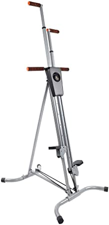 Máquina de Escalada Vertical Steppeur Elevado, soporta hasta 150 kg, 5 Regulables en Altura, con Pantalla, Plegable, Dispositivo de Deporte para casa ...