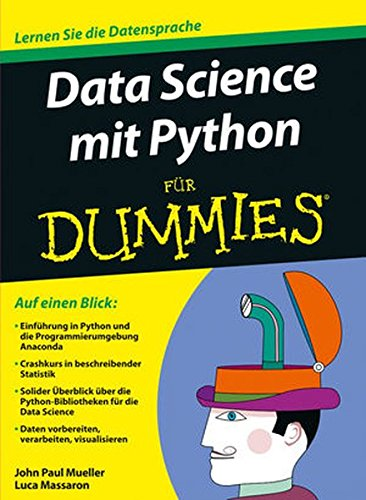 Data Science Mit Python Fur Dummies Buch Von John Paul Mueller Pdf
