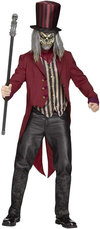 Disfraz de domador del circo psicótico rojo M / L: Amazon.es ...