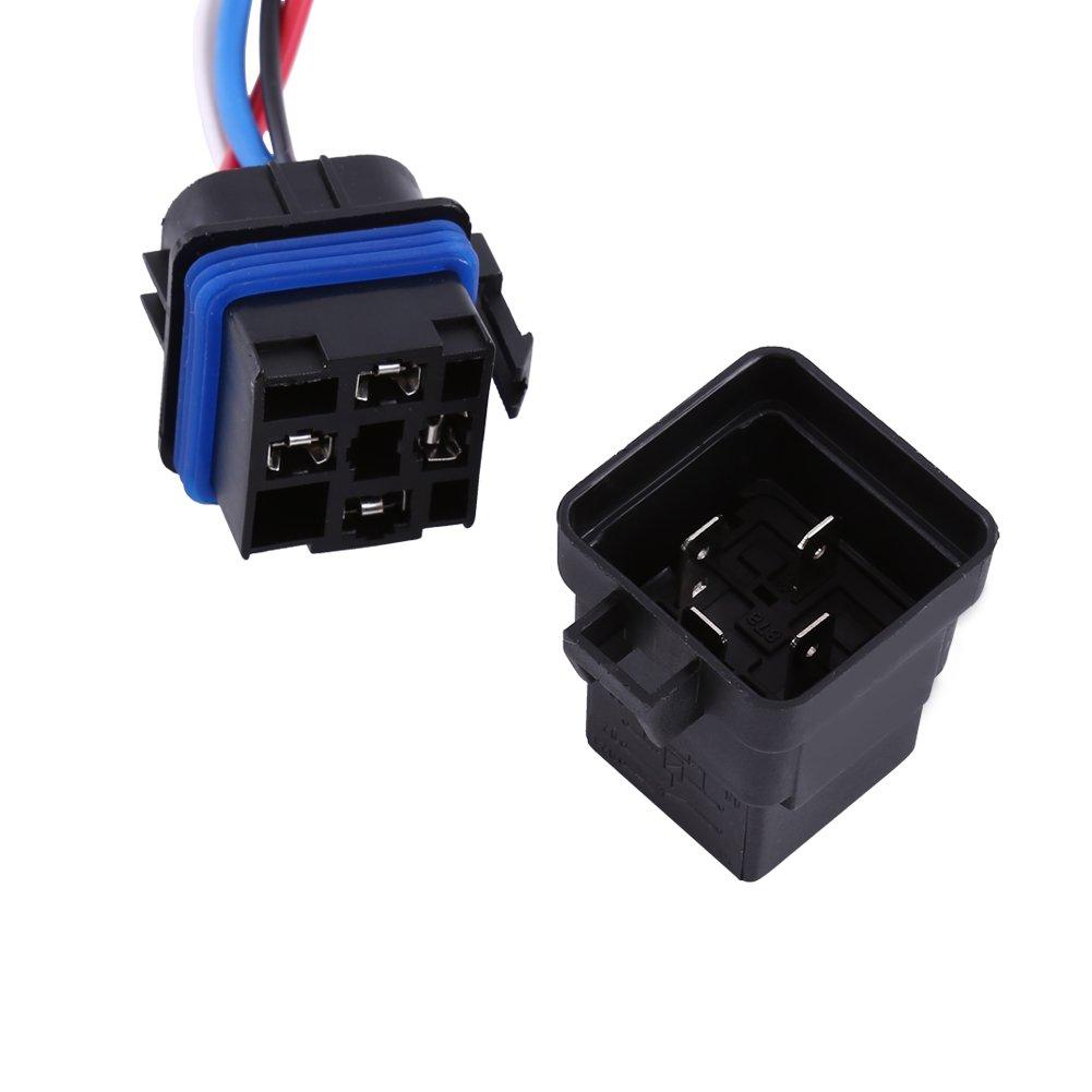 Dc Relay 12v 4 Pin Automotive 40a Waterproof Lucas 5