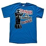 Stooble Men's Danger Will Robinson T-Shirt