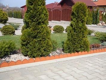 Palissade de jardin pour 10 m Parterre Plate-bande de délimitation ...