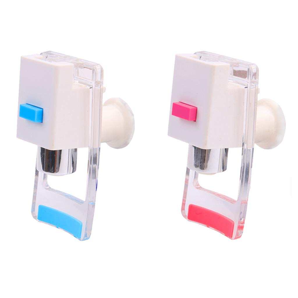 Hot /& Cold with Child Safety Lock. Milageto 2PCS Water Cooler Dispenser B Type