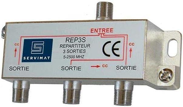 No name REPARTITEUR TV-SAT 1E 3S
