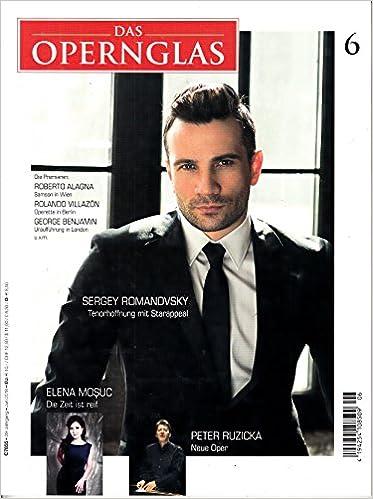 Opernglas 6 2018 Sergey Romanovsky Zeitschrift Magazin