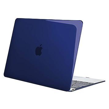 MOSISO Funda Dura Compatible MacBook Retina 12 Pulgadas A1534 (Versión 2017/2016 / 2015), Ultra Delgado Carcasa Rígida Protector de Plástico Cubierta, ...