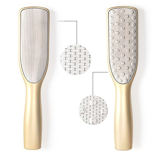 Foot File, BoBo Professional Foot Peel Foot Dead Skin Remover Rasp Removing Hard Cracked Cells Callus Remover Pedicure Kit Corn Remover ()