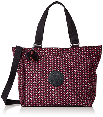 L bandoulière Pink Shopper New Sacs Multicolore Kipling Chevron Ew1Oq7H