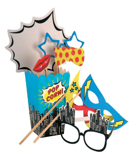 Superhero Party Photo Booth Props