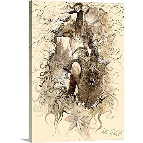 Steve A. Roberts Premium Thick-Wrap Canvas Wall Art Print entitled Viking II ()