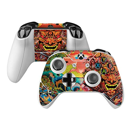 Asian Crest Skin Decal Compatible with Microsoft Xbox One and One S Controller - Full Cover Wrap for Extra Grip and Protection from DecalGirl
