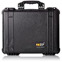 Pelican 1550-005-110 1550EMS Medical Case with Lid Organizer/Dividers (Black)