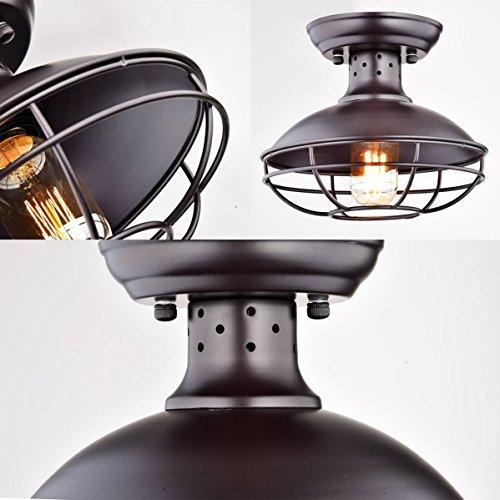 Dazhuan Industrial Vintage Metal Cage Pendant Lighting