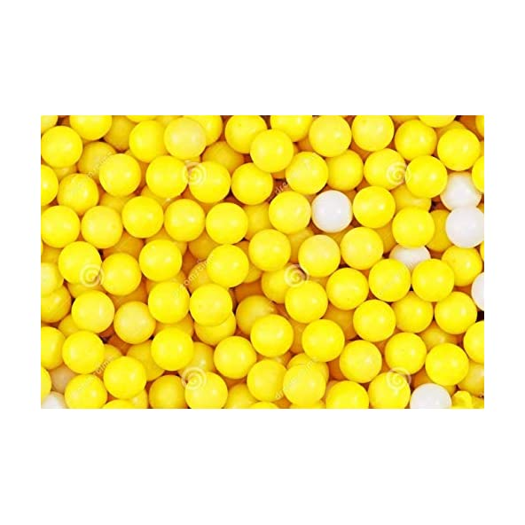 Fancy Shoppee 6 MM Plastic BB Bullets for Toy Guns & Air Gun | 500 Pcs | Yellow Colour