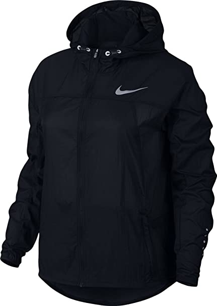 56ed981fb402 Amazon.com   Nike Women s Impossibly Light Hooded Jacket (831546-010 ...