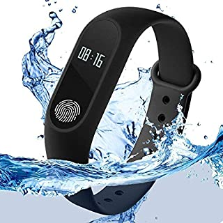 51b6Qlq5vOL. SS320 RunSale Sports Smart Fitness Band 2 Bracelet/Fitband with Heart Rate Monitor Sensor M2 OLED Bluetooth Wristband…