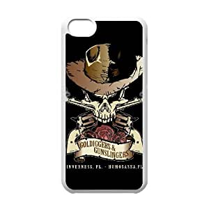 IPhone 5C Phone Case for Classic Band GUNS N' ROSES theme pattern design GCBGNRS906025