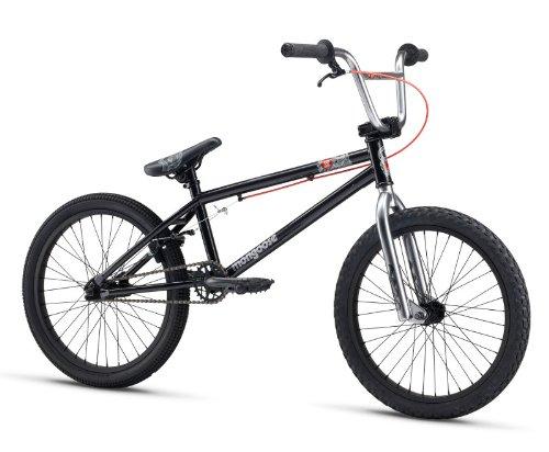 "Mongoose M13LOG202 Boys Logo Freestyle Bike, Black, 20"""