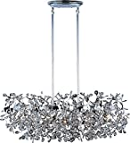 Maxim 24206BCPC Comet 7-Light Pendant, Polished Chrome Finish, Beveled Crystal Glass, G9 Xenon Xenon Bulb , 100W Max., Wet Safety Rating, Standard Dimmable, Glass Shade Material, 1150 Rated Lumens