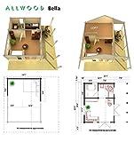Allwood Bella | 237 SQF Cabin Kit with 86 SQF