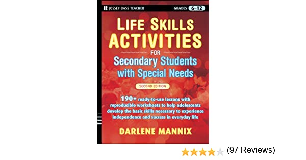 Amazon.com: Life Skills Activities for Secondary Students with ...