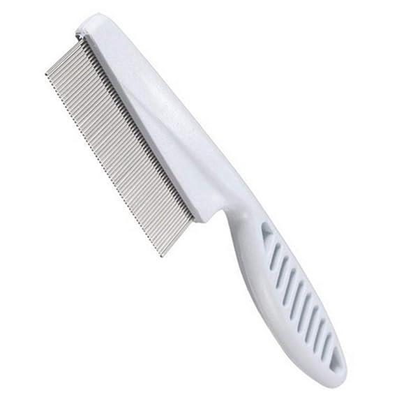 Xiton Dicht Spaced Zähne Haare kämmen Pet Flohkamm Haarpflege Bürste für Hunde, Katzen, Haustiere Grooming Tool Flöhe, Milben