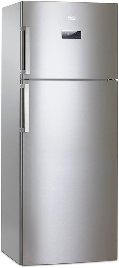 Beko RDNE455E31ZX Independiente 389L A++ Acero inoxidable nevera y congelador - Frigorífico (389 L, SN-T, 6 kg/24h, A++, Compartimiento de zona fresca, Acero inoxidable): 563.86: Amazon.es: Grandes electrodomésticos