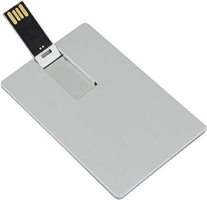 Amazon.com: Metal tarjeta de tarjeta de crédito Banco USB ...
