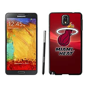 Custom and Personalized Cell Phone Case Design with Miami Heat NBA Logo Galaxy NOTE 3 N900P Wallpaper