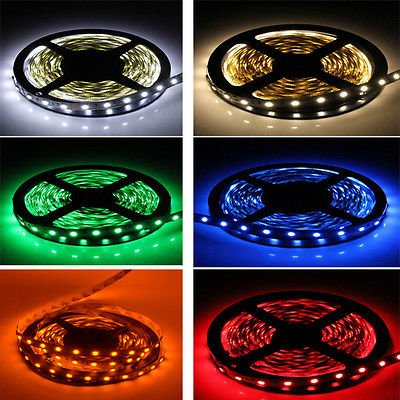 WishShop 1-5M DC 12V SMD 5050 3528 LED Strip Light For For Holiday Decoration Christmas Day Xmas Party